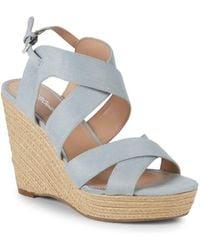 BCBGeneration Jaida Dream Wedge Sandals - Blue