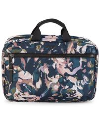 Tumi Madina Abstract-print Cosmetic Pouch - Blue