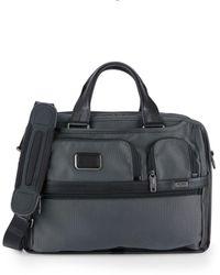 Tumi Expandable Organizer Laptop Brief Bag - Black