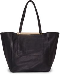Vince Camuto Delle Winged Tote - Natural