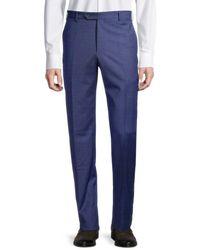 Zanella - Men's Parker Textured Wool Pants - Navy - Size 36 - Lyst