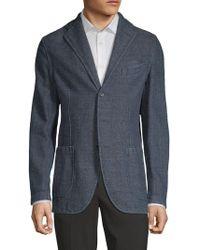 Eidos - Herringbone Cotton Sportcoat - Lyst