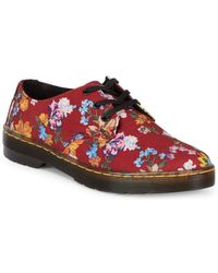Dr. Martens - Gizelle Floral Low-top Sneakers - Lyst
