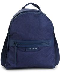 Longchamp Le Pliage Neo Nylon Backpack - Blue