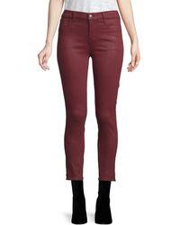 J Brand Alana Skinny Jeans - Pink