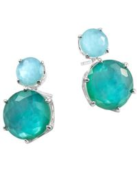 Ippolita Women's Wonderland Rock Candy Doublet Double-stud Earrings - Metallic