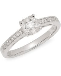 Effy 14k White Gold & Diamond Ring - Multicolor