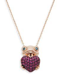 Effy Diamond Bangle In 14k Rose Gold - Multicolour