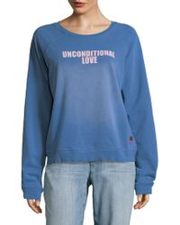 Peace Love World - Unconditional Love Jumper - Lyst