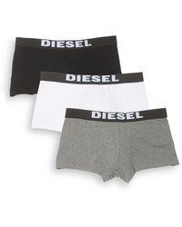 DIESEL - Umbx Rocco 3-pack Boxer Briefs - Lyst
