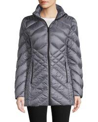 Saks Fifth Avenue - Hooded Packable Jacket - Lyst