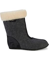 UGG Shearling-trim Snow Boot Sockliners - Natural