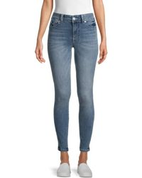 True Religion Halle Mid-rise Skinny Jeans - Blue