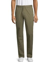 Black Brown 1826 - Relaxed-leg Cotton Chino Pants - Lyst