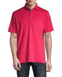 Greyson Saranac Polo Shirt - Wolf - Size Xl - Pink