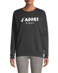 South Parade Women's Raglan Sleeve Sweatshirt - Black - Size Xs