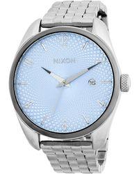 Nixon - Bullet Stainless Steel Bracelet Watch - Lyst