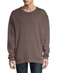 Alternative Apparel Easy Crewneck Sweatshirt - Brown