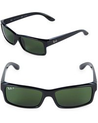 Ray-Ban - Rectangle Sunglasses - Lyst