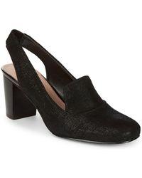 Donald J Pliner - Metallic Thread Sling Court Shoes - Lyst