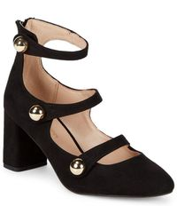 BCBGeneration - Bernadette Microsuede Mary Jane Shoes - Lyst