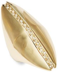 Alexis Bittar - Crystal Polished Midi Ring - Lyst