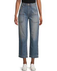 AG Jeans - Cody Workwear Straight Cotton Jeans - Lyst