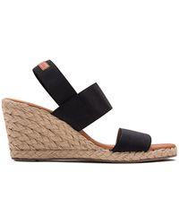 Andre Assous Allison Espradille Wedge Sandals - White