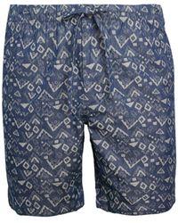 Bonobos Geometric Swim Shorts - Blue