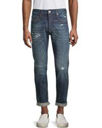 G-Star RAW Men's Japanese Selvedge Jeans - Antique - Size 33 32 - Blue