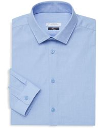 Versace Camicia New Trend Dress Shirt - Blue