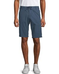 Buffalo David Bitton - Hans Cotton Bermuda Shorts - Lyst
