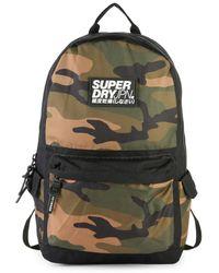 Superdry Men's Camo Backpack - Camo - Green