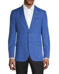 Ben Sherman Classic-fit Blazer - Blue