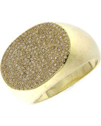 Meira T 14k Yellow Gold & Diamond Ring - Metallic