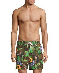 Polo Ralph Lauren Tropical Camo Swim Trunks - Green