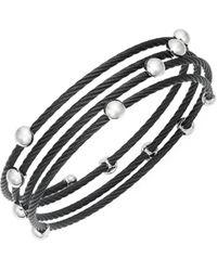 Alor Women's Stainless Steel Coil Bracelet - Metallic