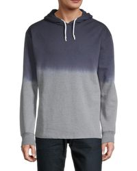Sovereign Code Cotton-blend Pullover Hoodie - Blue