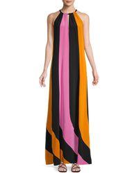 Diane von Furstenberg Kristine Silk Maxi Dress - Multicolor