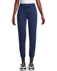 Tommy Hilfiger Drawstring Cotton-blend Jogger Pants - Blue