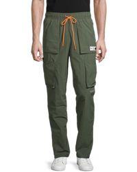 PUMA Men's Parquet Cargo Pants - Green - Size S