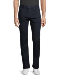 7 For All Mankind The Straight Jeans - Blue