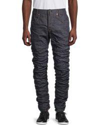 G-Star RAW Men's Staq 3d Straight-fit Tapered Jeans - Raw Denim - Size 32 32 - Blue