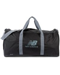 New Balance Men's Logo Sport Duffel Bag - Black