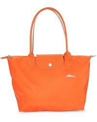 Longchamp Le Pliage Nylon Tote - Orange