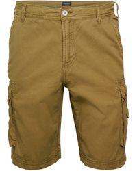 Buffalo David Bitton Heemi Cargo Shorts - Green