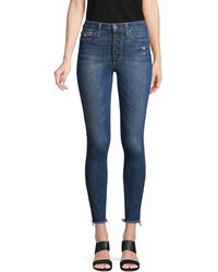 Joe's Jeans High-rise Skinny Ankle Jeans - Blue