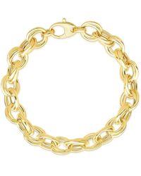 Saks Fifth Avenue 14k Yellow Gold Chain Bracelet - Metallic
