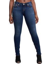 True Religion Women's Halle Core Skinny Jeans - Dream Catcher - Size 24 (0) - Blue