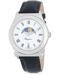 Ferragamo - Quartz Stainless Steel 40mm Watch - Lyst
